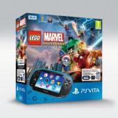 Pack Ps Vita Wi-fi Voucher Lego Marvel Super Heroes + Carte Mémoire 4 Go
