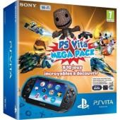 Pack Ps Vita + Megapack : Voucher Kids 10 + Carte Mémoire 16 Go