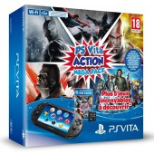 Pack PS Vita Wi-Fi + Action Megapack + Carte mémoire 8 Go