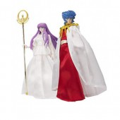 Figurine Myth Cloth - Saint Seiya God - Twin Pack Abel  Athena