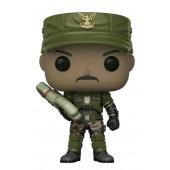 Figurine Toy Pop N°08 - Halo - S1 Sergent Johnson (c) (avec cigare)