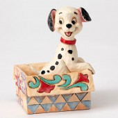 Figurine Disney Traditions - 101 Dalmatiens - Lucky Mini (fenêtre Transparente)