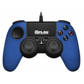 Plap Manette Filaire Bleue @play Ps4 Officielle Sony