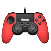Plap Manette Filaire Rouge @play Ps4