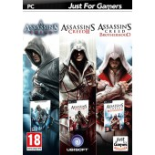 Assassin's Creed Triple Pack (Assassin's Creed 1 + 2 + Brotherhood)