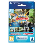 Adventure Games Mega Pack + Carte mémoire 8 Go