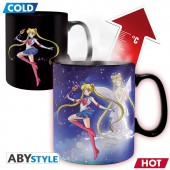 Mug - Sailor Moon - Heat Change Sailor Chibi 460 ml