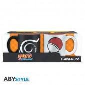 Mini-mug - Naruto Shippuden - Set De 2 Konoha