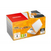 Nintendo New 2DS XL Blanc + Orange
