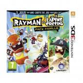 Rayman et Les Lapins Crétins - Pack Famille