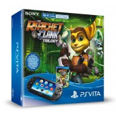 Pack PS Vita Wi-Fi + Ratchet & Clank Trilogy + Carte mémoire 8 Go
