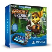 Pack PS Vita Wi-Fi + Ratchet & Clank Trilogy + Carte mémoire 8 Go
