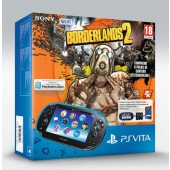 Pack PS Vita Wi-Fi + Borderlands 2 + Carte mémoire 4Go