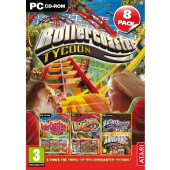 Roller Coaster Tycoon Collection 8 Jeux