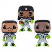 Figurine Toy Pop - Seattle Seahawks - Legion of Boom 3 Pack