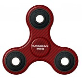 Hand Spinner - Spinmax Pro - Rouge Carbone