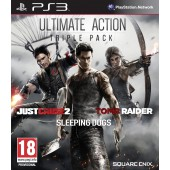 Action Pack Tomb Raider - Just Cause 2 - Sleeping Dogs