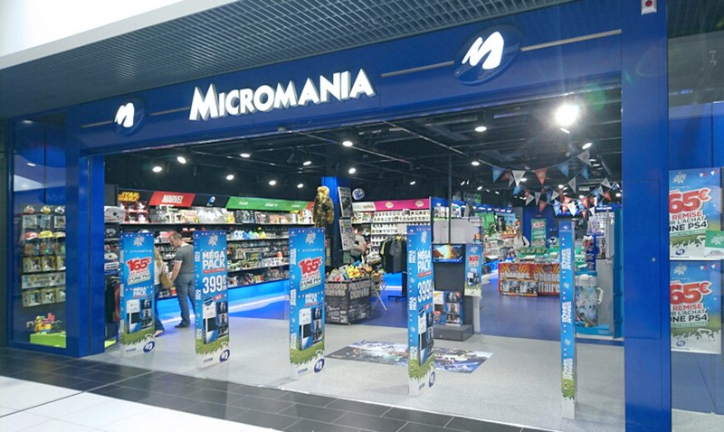 magasin jeux vid o angers centre commercial geant infos et adresse micromania. Black Bedroom Furniture Sets. Home Design Ideas