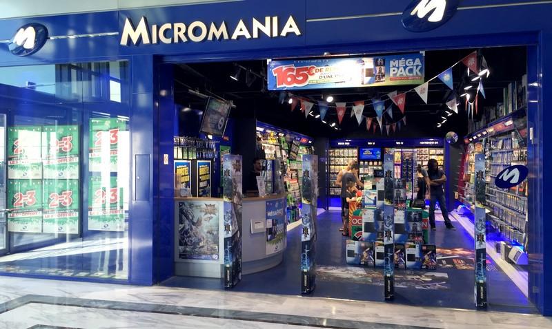 Magasin micromania begles bordeaux infos et adresse micromania - Magasin luminaire bordeaux ...