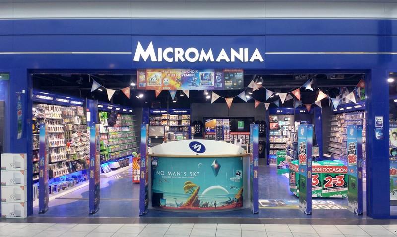 magasin micromania carre senart infos et adresse. Black Bedroom Furniture Sets. Home Design Ideas