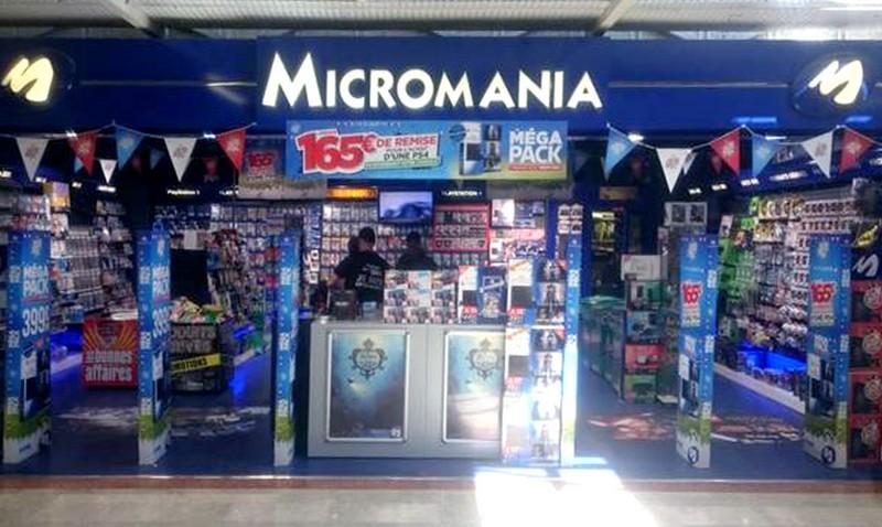 magasin micromania isle d 39 abeau infos et adresse. Black Bedroom Furniture Sets. Home Design Ideas