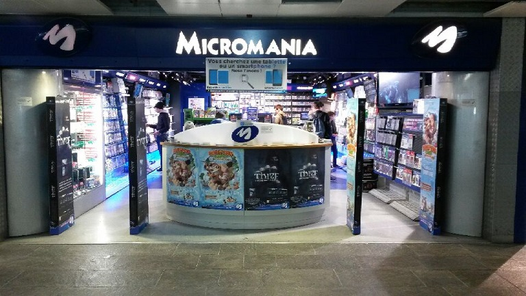 Magasin micromania les halles infos et adresse micromania - Micromania console occasion ...