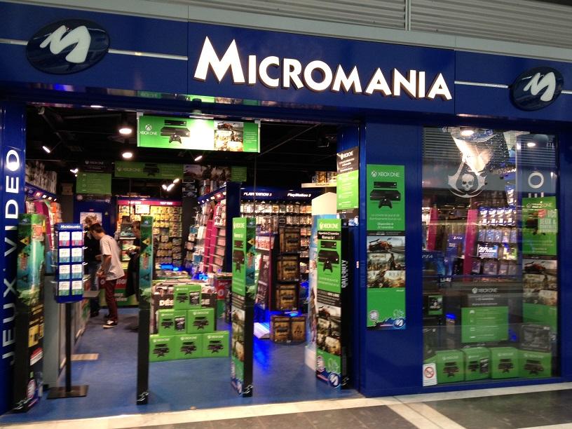 magasin micromania merignac soleil infos et adresse micromania. Black Bedroom Furniture Sets. Home Design Ideas
