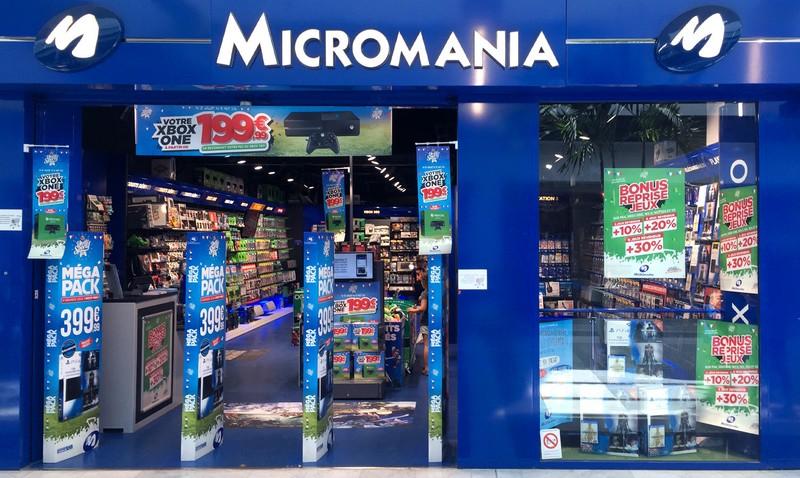 magasin jeux vid o merignac soleil infos et adresse micromania. Black Bedroom Furniture Sets. Home Design Ideas