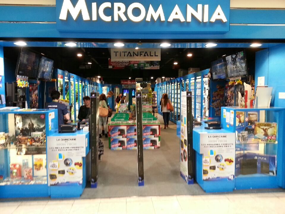 magasin micromania montpellier polygone infos et adresse micromania. Black Bedroom Furniture Sets. Home Design Ideas