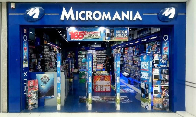 magasin jeux vid o nantes paridis centre commercial paridis infos et adresse micromania. Black Bedroom Furniture Sets. Home Design Ideas