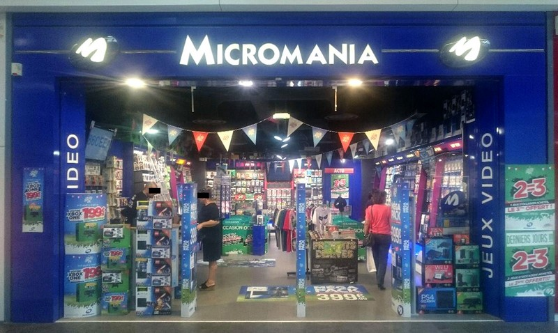 magasin jeux vid o montauban centre commercial auchan infos et adresse micromania. Black Bedroom Furniture Sets. Home Design Ideas