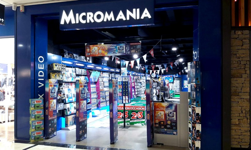 magasin jeux vid o parly 2 centre commercial parly 2 infos et adresse micromania. Black Bedroom Furniture Sets. Home Design Ideas