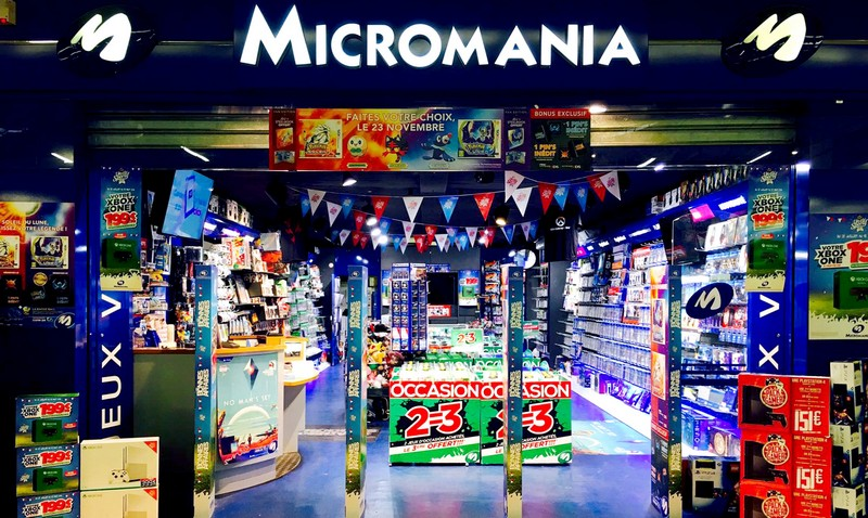 Magasin jeux vid o massy palaiseau centre commercial cora massy infos et adresse micromania - Massy centre commercial ...
