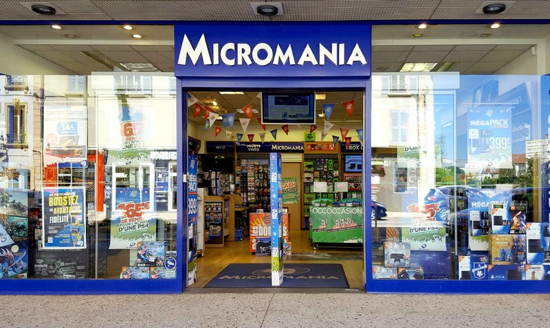 magasin jeux vid o roanne infos et adresse micromania. Black Bedroom Furniture Sets. Home Design Ideas