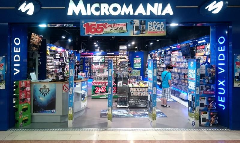 magasin jeux vid o saint sebastien centre commercial auchan infos et adresse micromania. Black Bedroom Furniture Sets. Home Design Ideas