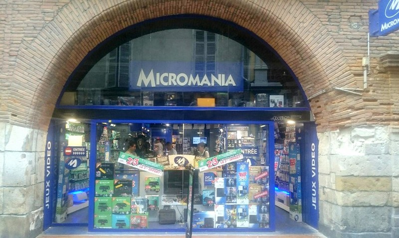 Magasin jeux vid o toulouse rue saint rome infos et adresse micromania - Magasin luminaire toulouse ...