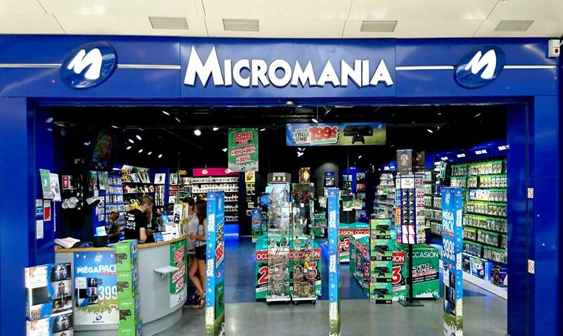 magasin jeux vid o tours atlantes centre commercial les atlantes infos et adresse micromania. Black Bedroom Furniture Sets. Home Design Ideas