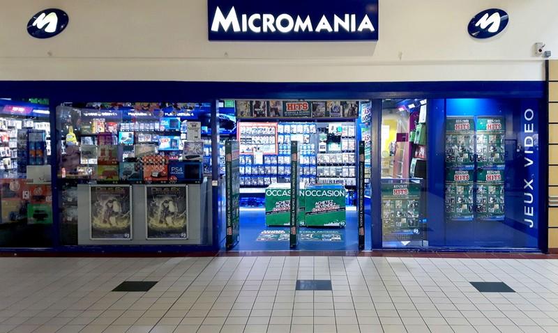 magasin jeux vid o bruay la buissiere centre commercial cora bruay infos et adresse micromania. Black Bedroom Furniture Sets. Home Design Ideas