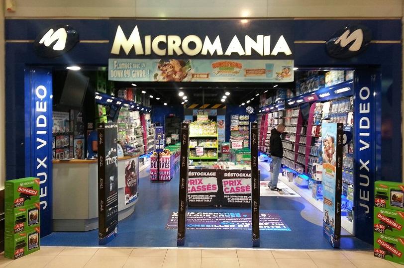 Magasin Micromania VILLE DU BOIS  infos et adresse