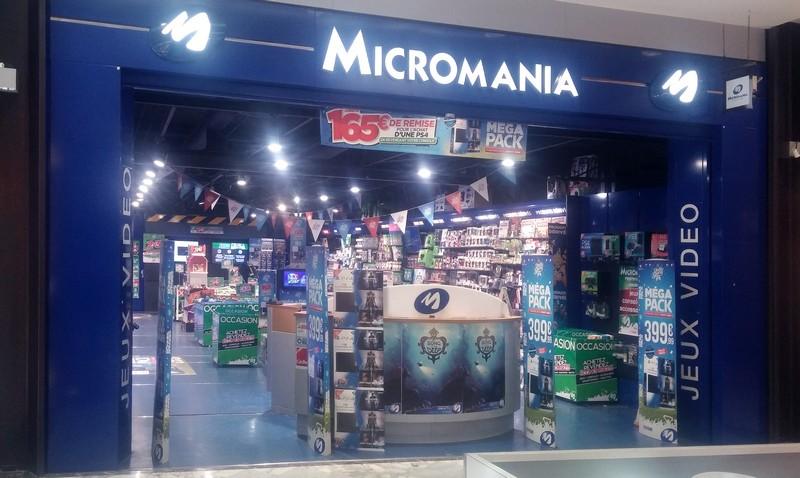 magasin jeux vid o valenciennes d 39 armes infos et adresse micromania. Black Bedroom Furniture Sets. Home Design Ideas
