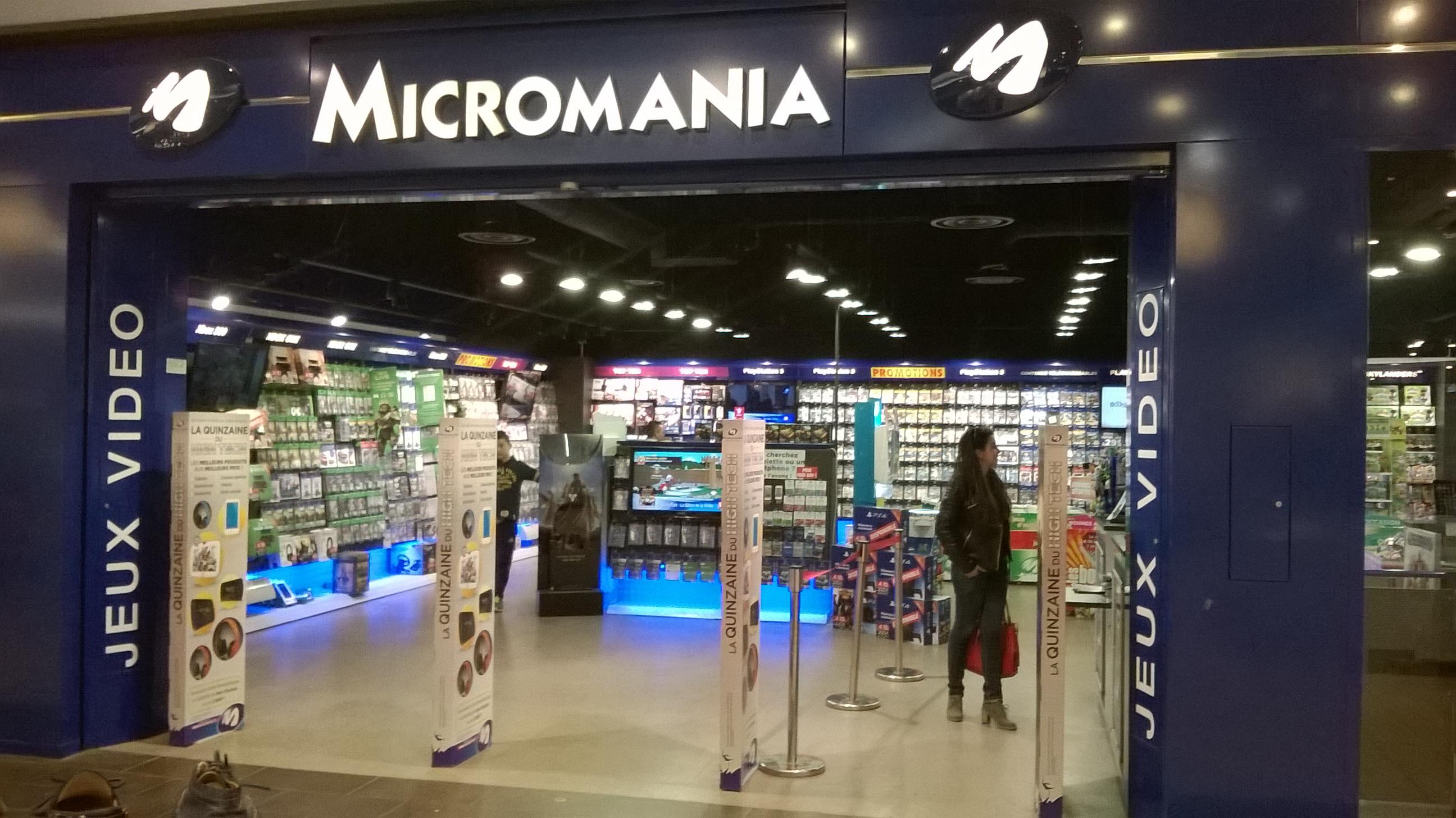 magasin micromania la valentine infos et adresse micromania. Black Bedroom Furniture Sets. Home Design Ideas