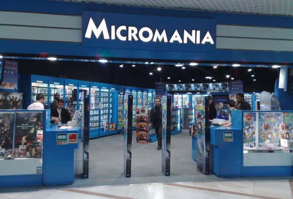 magasin micromania parinor infos et adresse micromania. Black Bedroom Furniture Sets. Home Design Ideas