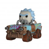 Figurine Toy Pop N°37 - Rick et Morty - Ride Mad Max Rick