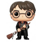Figurine Toy Pop N°51 - Harry Potter - Harry Avec Firebolt