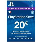 PSN Card 20 euros - PS4 - PS3 - PS Vita
