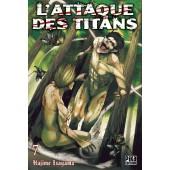 Manga - L'attaque des Titans - Tome 07