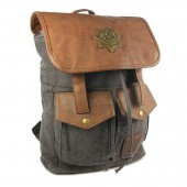 Sac a dos the walking dead rick grimes anthracite