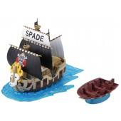 Maquette - One Piece - Grand Ship Collection Spade Pirates' Ship