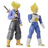 Figurines Figure-rise Standard - Dragon Ball Z - Trunks et Vegeta Super Saiyans 15 cm