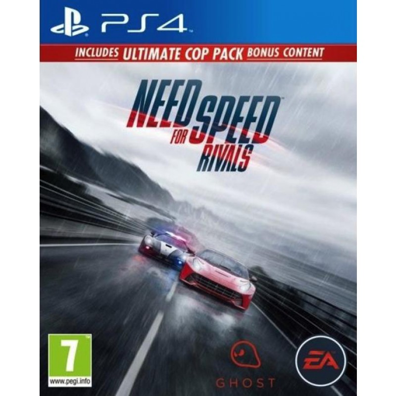image du jeu Need For Speed : Rivals sur PS4